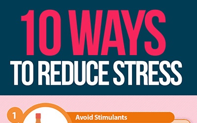 10 Ways to Reduce Stress [infographic]
