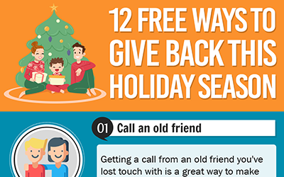 12 Free Ways to Give Back This Holiday Season [infographic]