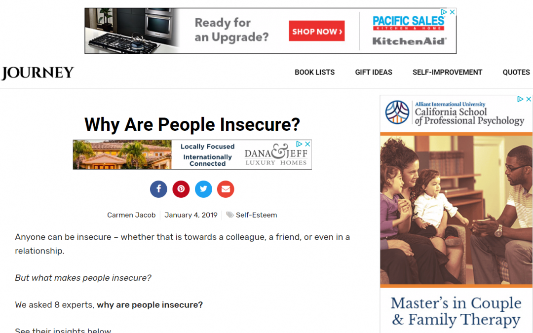 Why Are People Insecure?